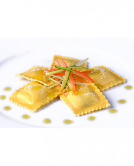 Ravioloni al radicchio rosso - 1 kg - pasta surgelata - CasadiPasta