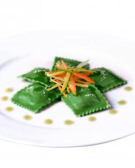 Ravioloni al profumo di primavera (tarassaco e ortica) - 1 kg - pasta surgelata - CasadiPasta