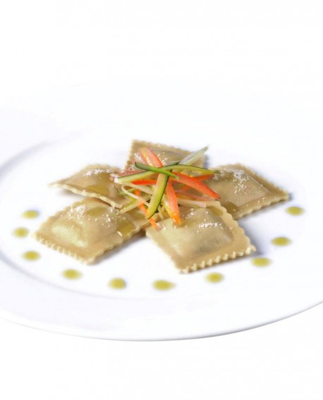 Ravioloni con polenta e formaggio tipico - 1 kg - pasta surgelata - CasadiPasta