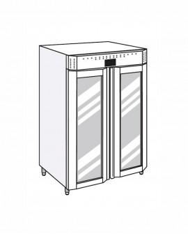 Armadio frigorifero Stagionatore 1500 VIP Salumi - STG ALL 1500 VIP S ADV - Refrigerazione - Everlasting