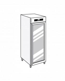 Armadio frigorifero Stagionatore 700 GLASS CARNE - STG MEAT 700 GLASS - Refrigerazione - Everlasting
