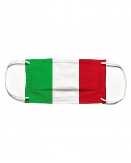 Mascherina tricolore ITALIA in tessuto tnt doppio strato da 70gr cadauno