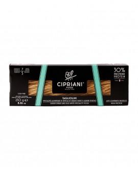 Tagliolini Cipriani di semola di grano duro con solo albume d'uovo e proteine di soia - Proteica 250g - Cipriani Food