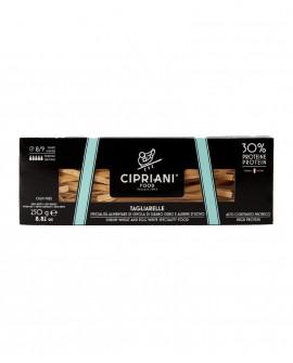Tagliarelle Cipriani di semola di grano duro con solo albume d'uovo e proteine di soia - Proteica 250g - Cipriani Food