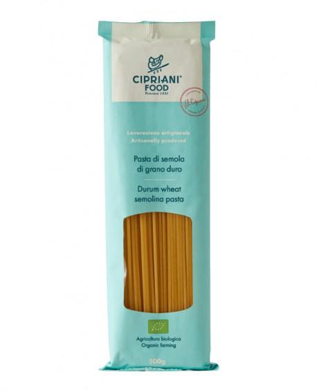 Spaghetti Cipriani di semola di grano duro biologica - 500g - lavorazione artigianale - Cipriani Food