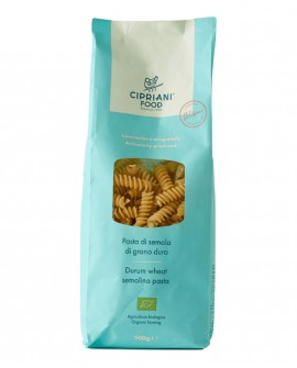 Fusilli Cipriani di semola di grano duro biologica - 500g - lavorazione artigianale - Cipriani Food