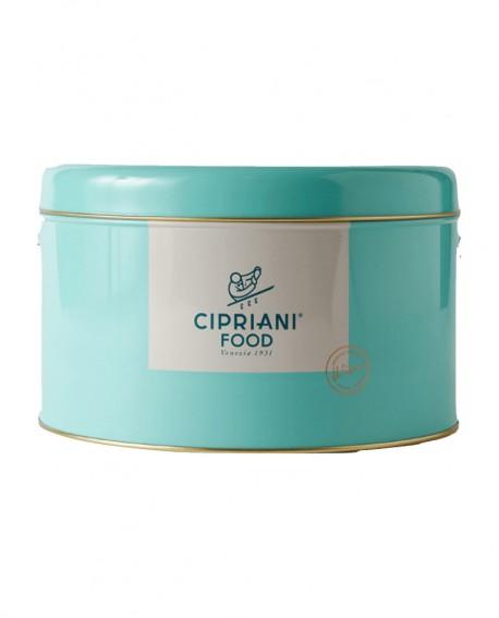 Fugassa Cipriani - dolce tipico veneto - in Latta - 1Kg - Cipriani Food