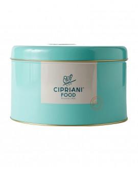 Panettone Cipriani artigianale con uvetta senza canditi - in latta - 1Kg - Cipriani Food