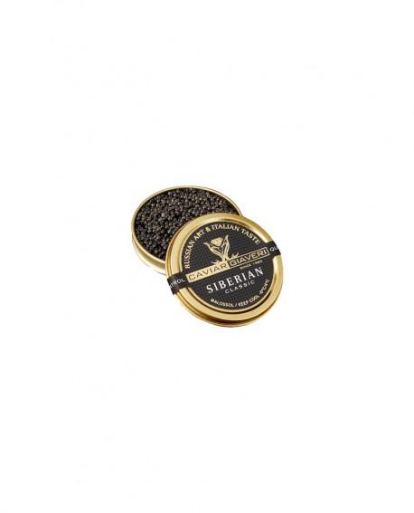 Caviale Siberian Classic - 10g - cartone nr.12 pezzi - Caviar Giaveri