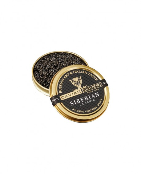 Caviale Siberian Classic - 30g - Caviar Giaveri