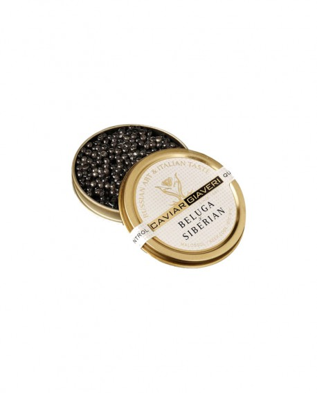 Caviale Beluga Siberian - 30g - Caviar Giaveri