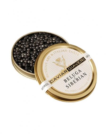 Caviale Beluga Siberian - 200g - Caviar Giaveri