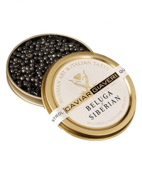 Caviale Beluga Siberian - 250g - Caviar Giaveri