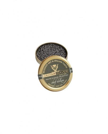 Caviale Chef Deluxe-Haute cuisine selection - 10g - cartone nr.12 pezzi - Caviar Giaveri