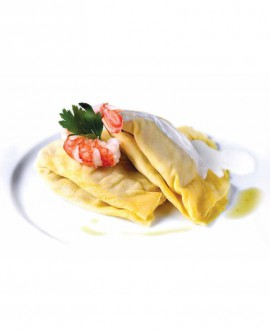 Crespelle zucca e noci - 1 kg - pasta surgelata - CasadiPasta