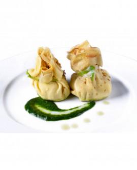 Saccottino di Crespella agli asparagi - 1 kg - pasta surgelata - CasadiPasta