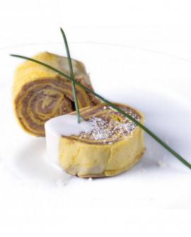 Cuor di crespella ai funghi porcini - 1 kg - pasta surgelata - CasadiPasta